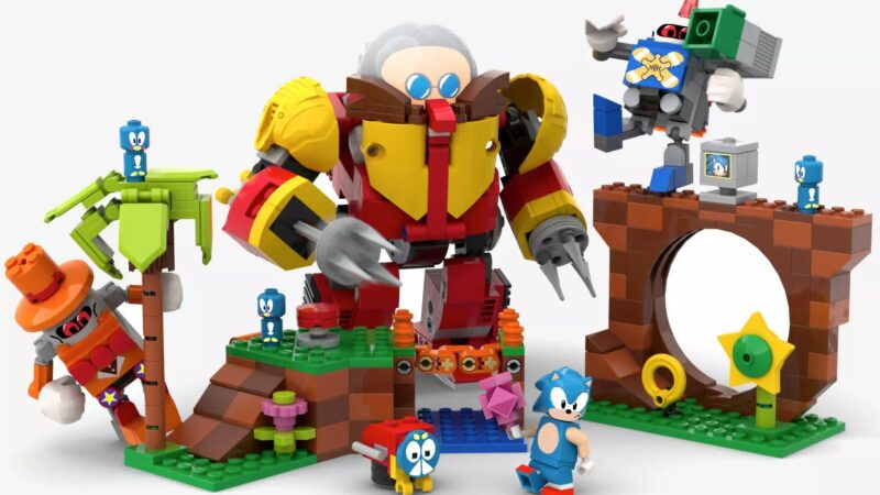 Lego is building a Sonic the Hedgehog-themed playset based on a fan idea